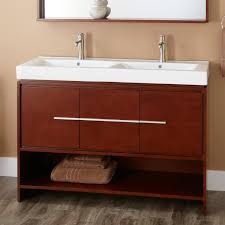 Cherry Bathroom Vanity by Bathroom Traditional Double Bathroom Vanities With Nine Drawers