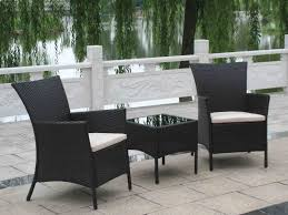 Rattan Patio Table Amazing Of Black Wicker Patio Furniture House Decor Pictures