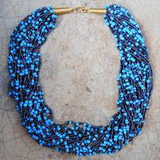 blue bead necklace images Light and dark blue beaded necklace uweza foundation jpg