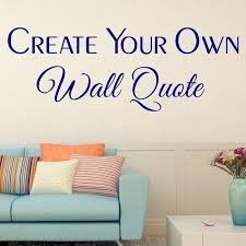 Wall StickersCustom Decals - Wall sticker design your own