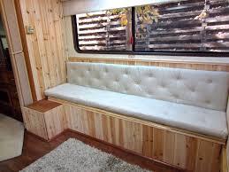 bench bench back cushion custom cushion sewn banquette seat