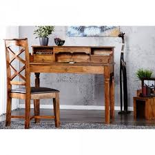 Study Bedroom Furniture by Wooden Study Table Made In Solid Sheesham Wood Bedroom Furniture