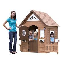 Backyard Cedar Playhouse by Best Wooden Playhouses For Kids 2016