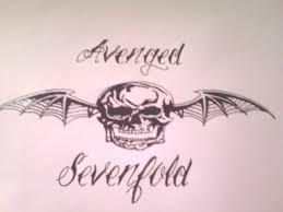 avenged sevenfold death bat drawing by gbftattoos on deviantart