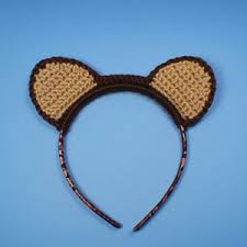 crochet hair bands animal ears crochet pattern for hairbands and hats planetjune