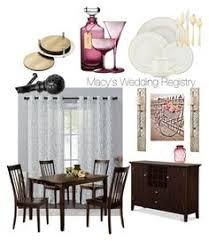 home decor wedding registry macy s wedding registry by stillwagon on polyvore