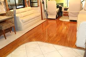 Cherry Wood Laminate Flooring Countryside Interiors Transforming Rvs And Trailers Since The