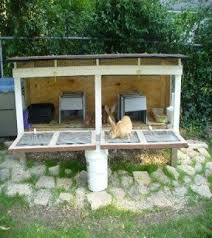 Make A Rabbit Hutch Cheap Animal Cages Foter