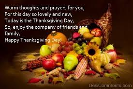 prayers for your family and friends happy thanksgiving