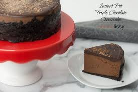 black friday amazon instant pot pot triple chocolate cheesecake