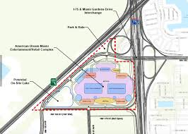 Map Of Florida Turnpike by The American Dream Miami Mega Mall