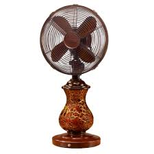 decorative fans decorative fans portable floor and table fans rustic and