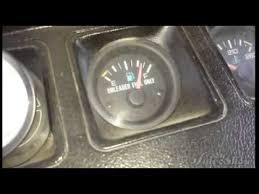 jeep wrangler fuel gage fix yj youtube
