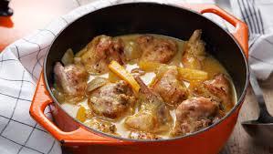 cuisiner un lapin au vin blanc l émission al dente sur rts un recettes de cuisine al dente