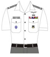 senior member uniform wear