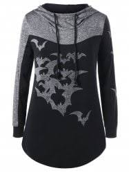 plus size halloween hoodie cheap shop fashion style with free