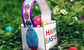 easter egg baskets to make make your own easter basket templates happy easter 2018