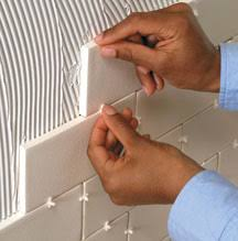 Installing Wall Tile Tiling A Wall