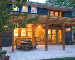 Patio Designs With Pergola by Patio With Pergola Crafts Home
