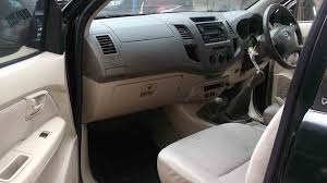 used hilux vigo 4 4 double cabin manual 2007 front interior view