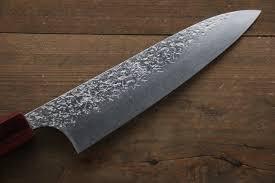 American Kitchen Knives Kurosaki Shizuku R2 Sg2 Hammerd Gyuto Japanese Chef Knife 180mm