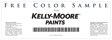 pinned august 15th free quart of paint at kelly moore stores