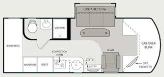rv bunkhouse floor plans rv floor plans via floorplans winnebago rvs view online the
