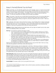 Example Of A Formal Essay 7 Examples Of Informal Essay Mailroom Clerk