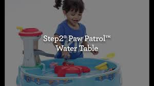 Water Table For Kids Step 2 Step2 Paw Patrol Water Table Kids Unboxing Toys Youtube
