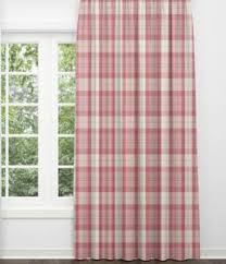 Pink Tartan Curtains Plaid Curtains Pink Buffalo Check Nursery Curtains For Nursery