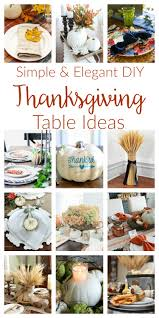 simple thanksgiving table decorations two purple couches