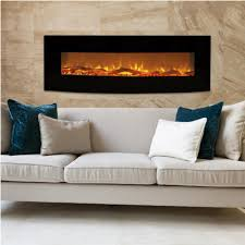 winsome wall mount electric fireplace without heater image of wall