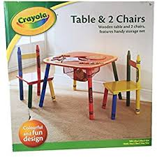 crayola table and chairs table chairs crayola childrens kids set bedroom furniture