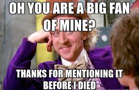 Condescending Wonka Meme - star of condescending wonka meme dead at 83