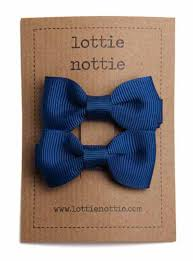 school hair accessories navy blue school hair bows bundle lottie nottie