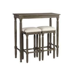 Rustic Pub Table Set Distressed Finish Pub Tables U0026 Bistro Sets You U0027ll Love Wayfair