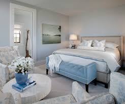 Light Blue And White Bedroom Cottage Bedroom Sherwin Williams Samovar Silver Summer House