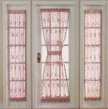 Door Panel Curtains Lace Door Panel Curtains Door Window Curtains Give You The