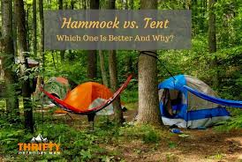 hammock vs tent which one is better and why thrifty outdoors