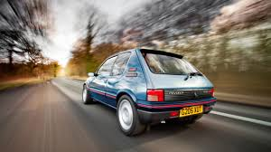 peugeot cars older models we drive a brand new old peugeot 205 top gear