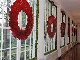 creative way to use wreaths stonegable windows window