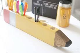 Desk Pencil Holder Decoart Blog Crafts Back To Pencil Holder