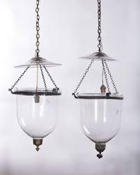 ladari stile antico coppia di ladari in stile antico in vetro e bronzo