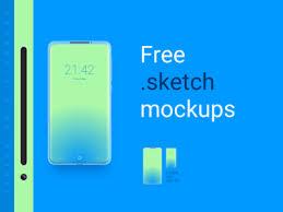 15 daily free sketch phone mockup by twenty one dribbble