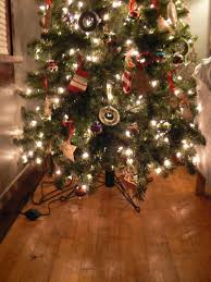 Christmas Tree Without Ornaments christmas tree skirt alternatives little house design