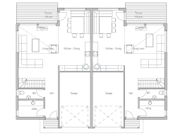 modern architecture home plans duplex house plan ch158d modern architecture house plan