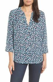 nordstrom blouses nydj s blue shirts blouses clothing nordstrom