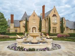 mansions in dallas traditional landscape yard with raised beds exterior stone floors