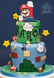 mario cake mario brothers themed birthday cake bearkery bakery
