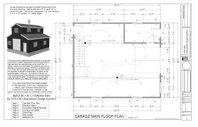 Garage With Apartment by G503 26 X 30 X 10 Monitor Barn Plans